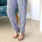 Wyse geometrical pants