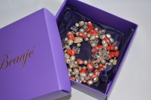 How to look after your beaded semi-precious gemstone jewellery - original packaging