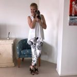 LisetteL monochrome patterned pants